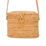 Poppy + Sage Chloe Straw Bag