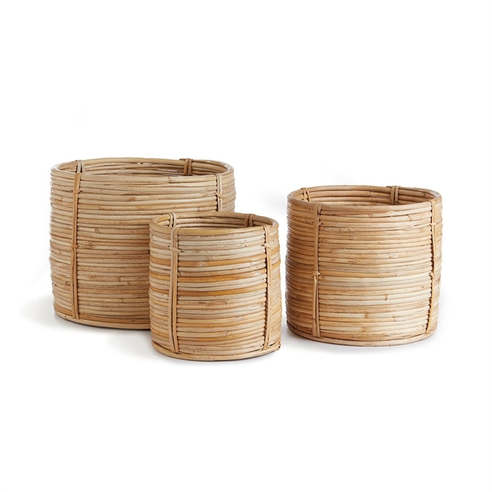 Napa Home and Garden Cane Rattan Basket