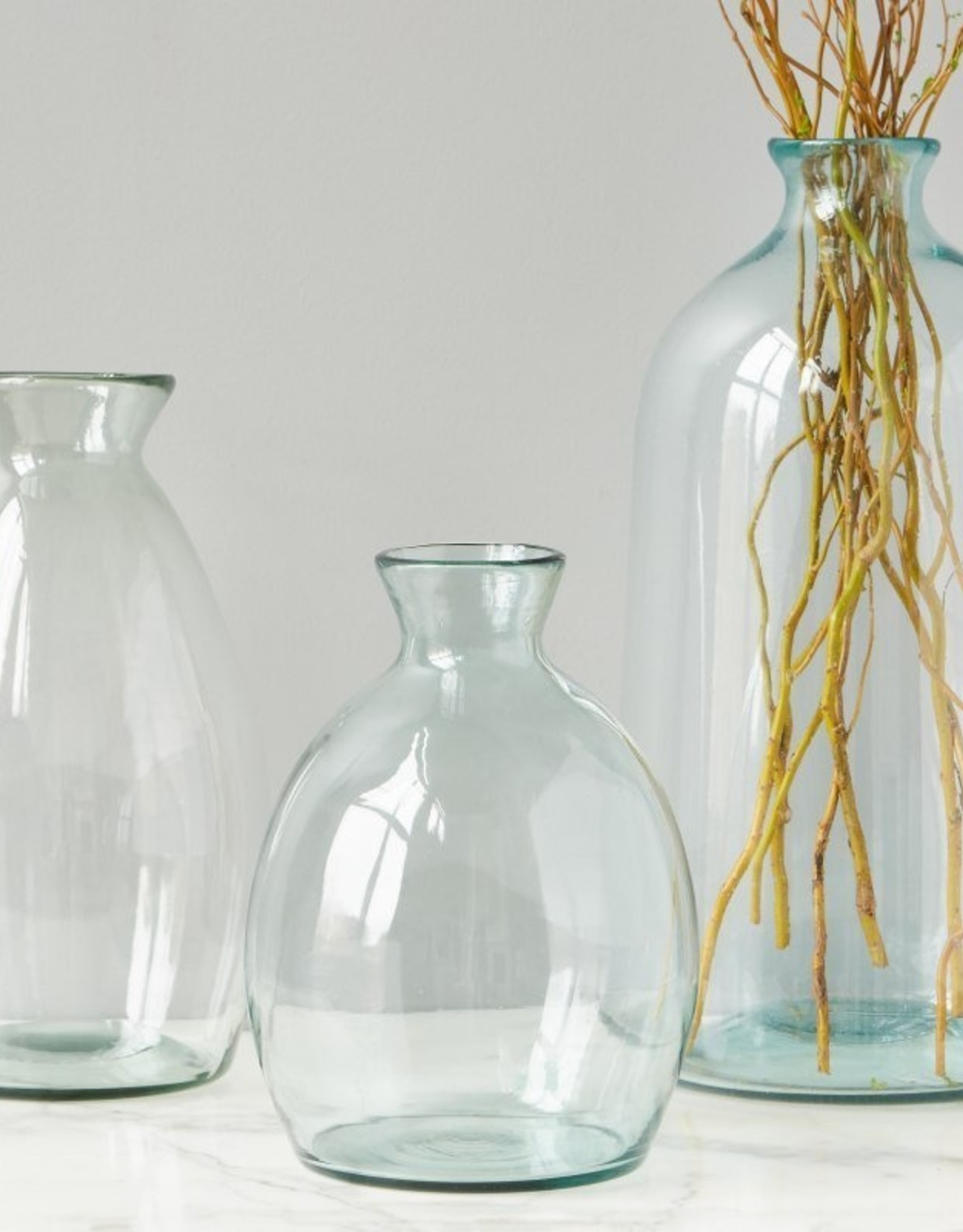 etu HOME Clear Artisanal Vase