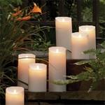 Napa Home and Garden Moving Flame Outdoor Pillar