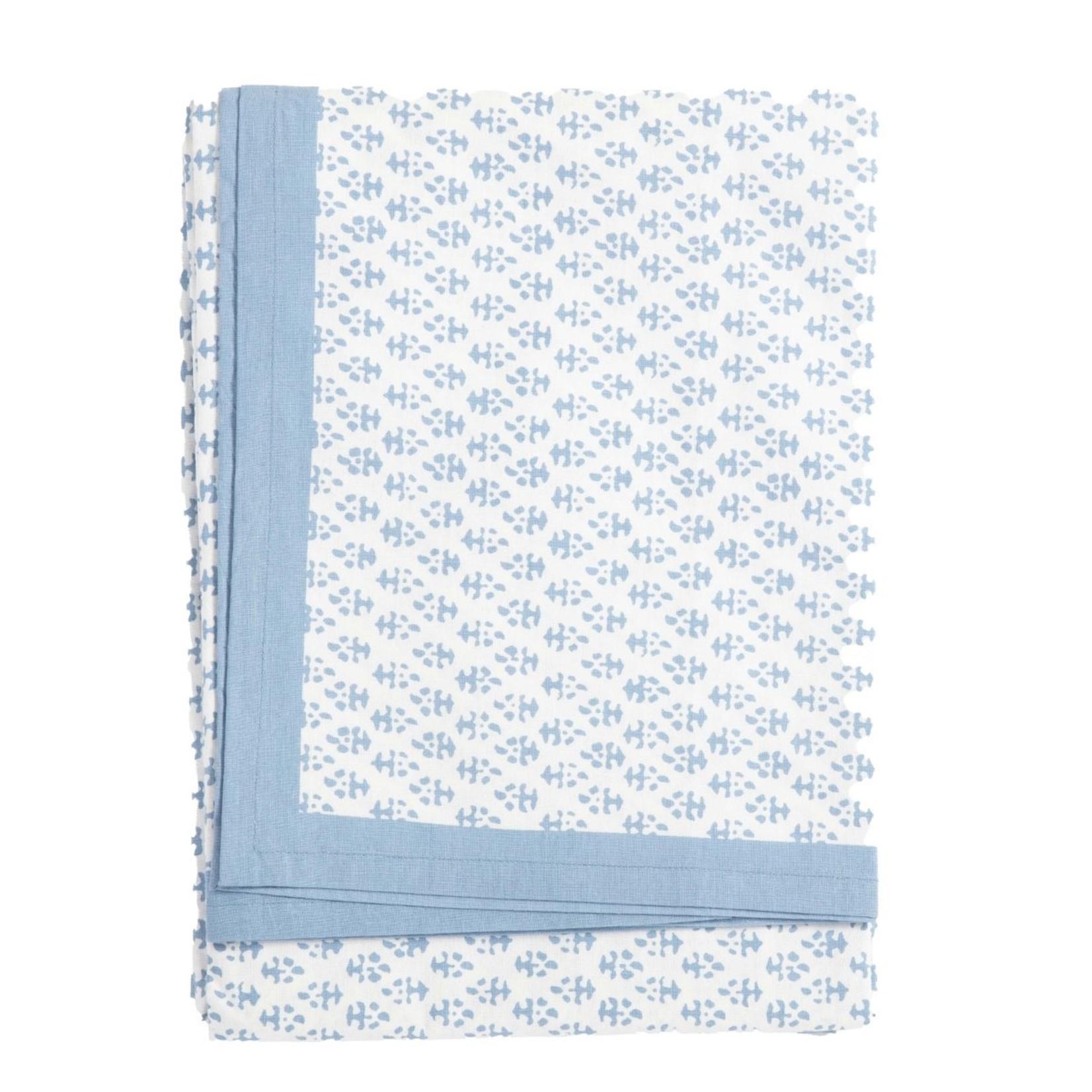 Amanda Lindroth Hand-Blocked Batik Tablecloth