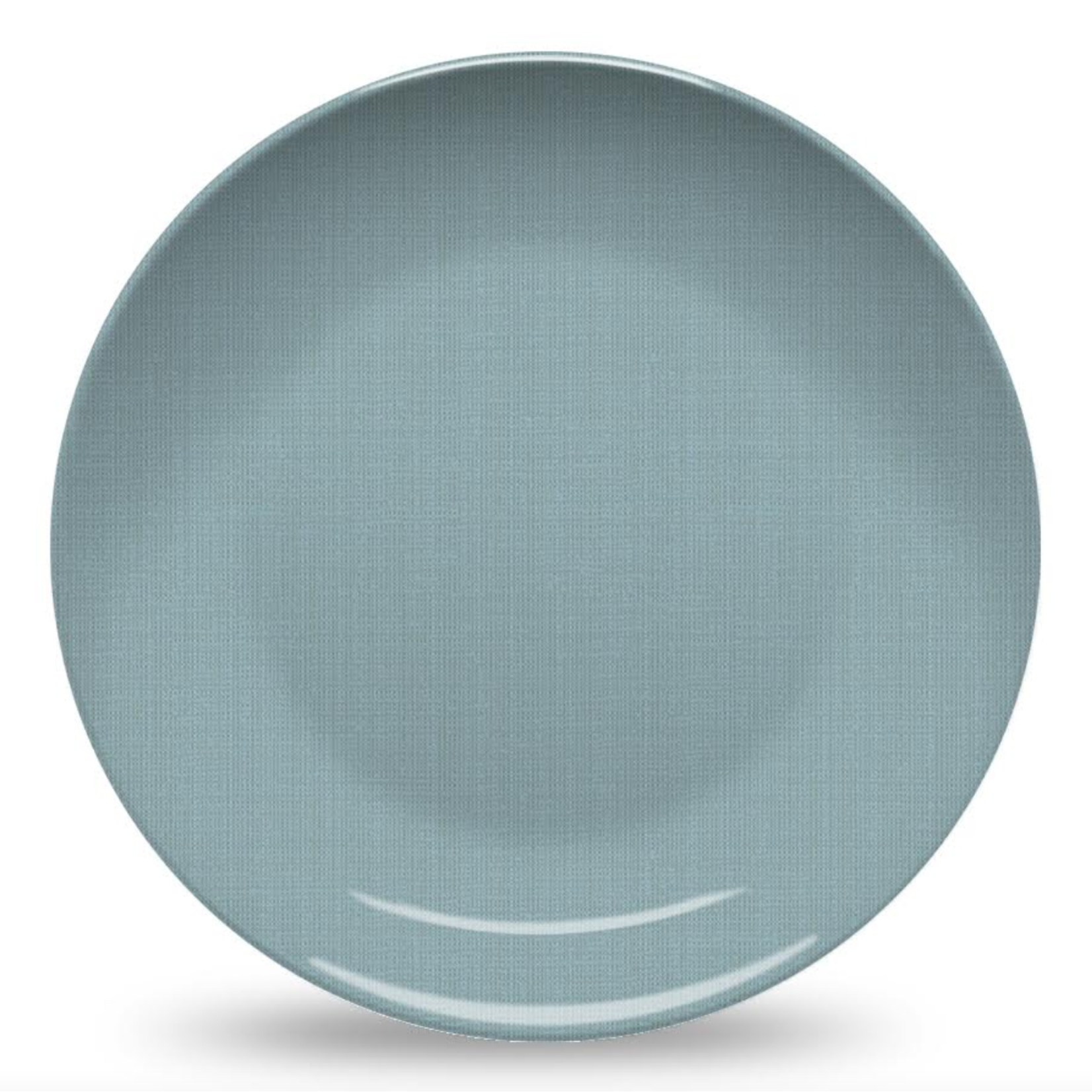 Nonna Peppy Weave Plate - Blue