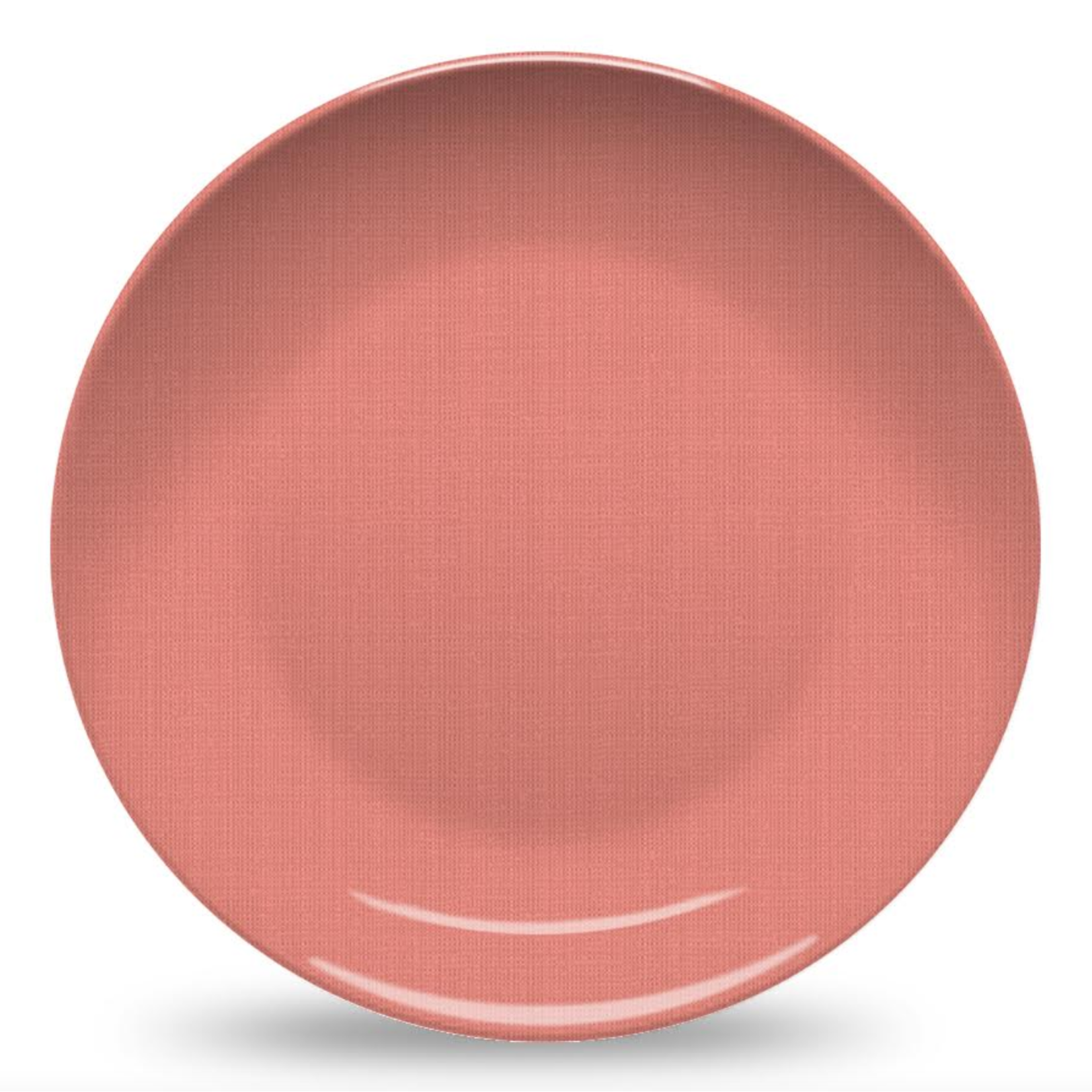 Nonna Peppy Weave Plate - Coral