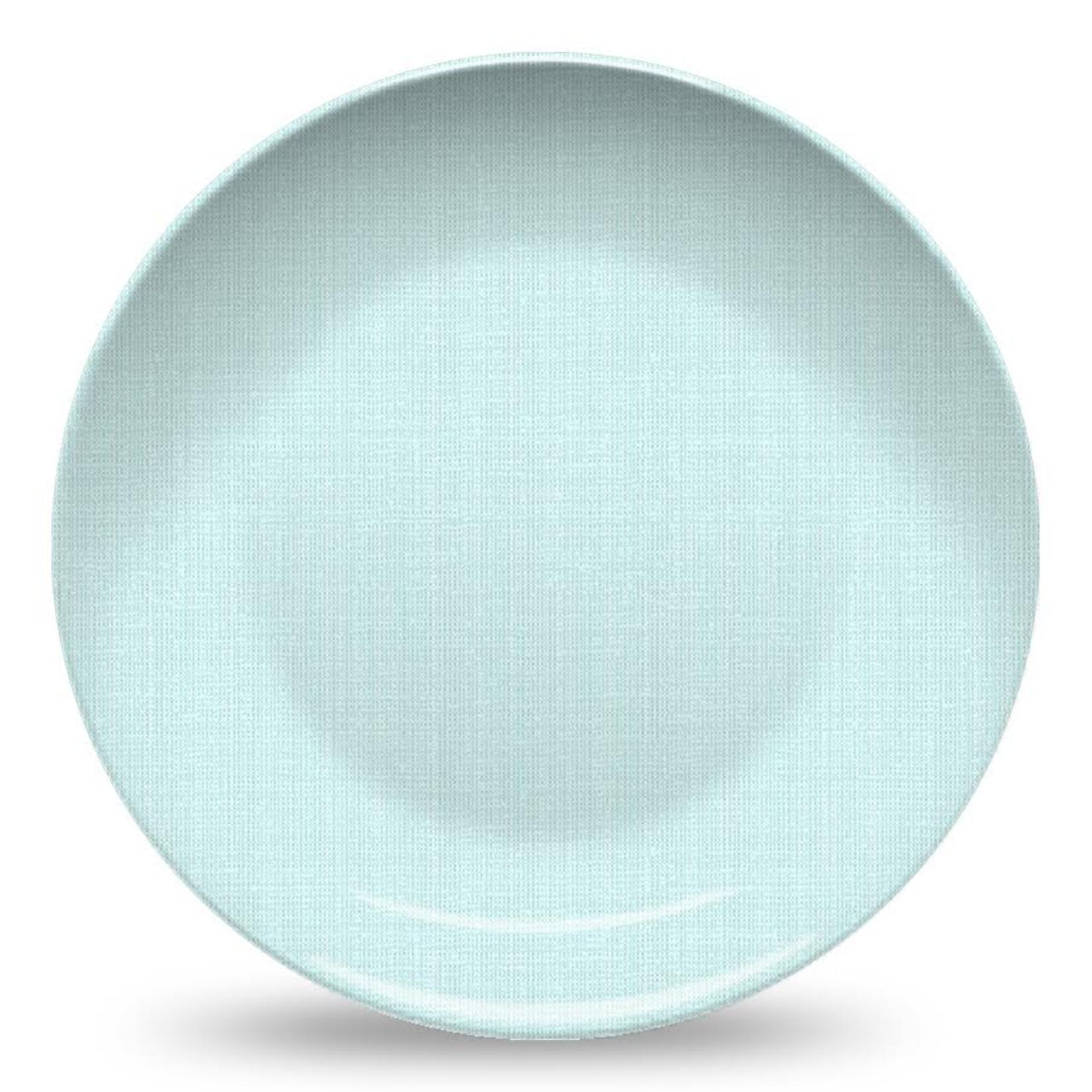 Nonna Peppy Weave Plate - Light Blue