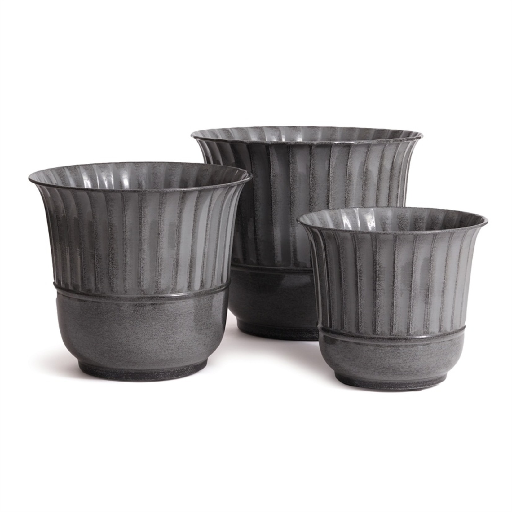 Napa Home and Garden Makayla Pots - Gray
