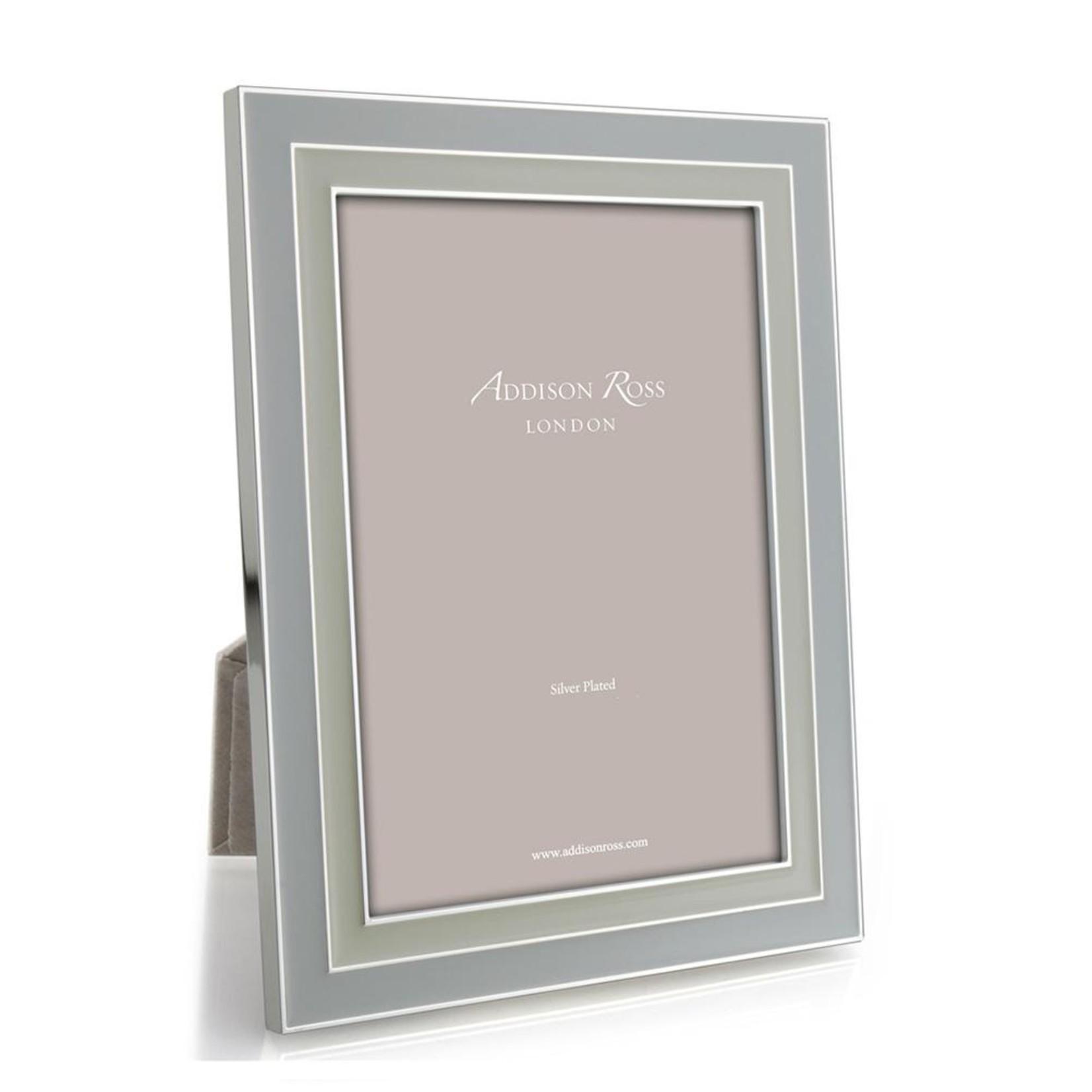 Addison Ross Manhattan Dove Grey & Pebble Enamel Frame - 4x6