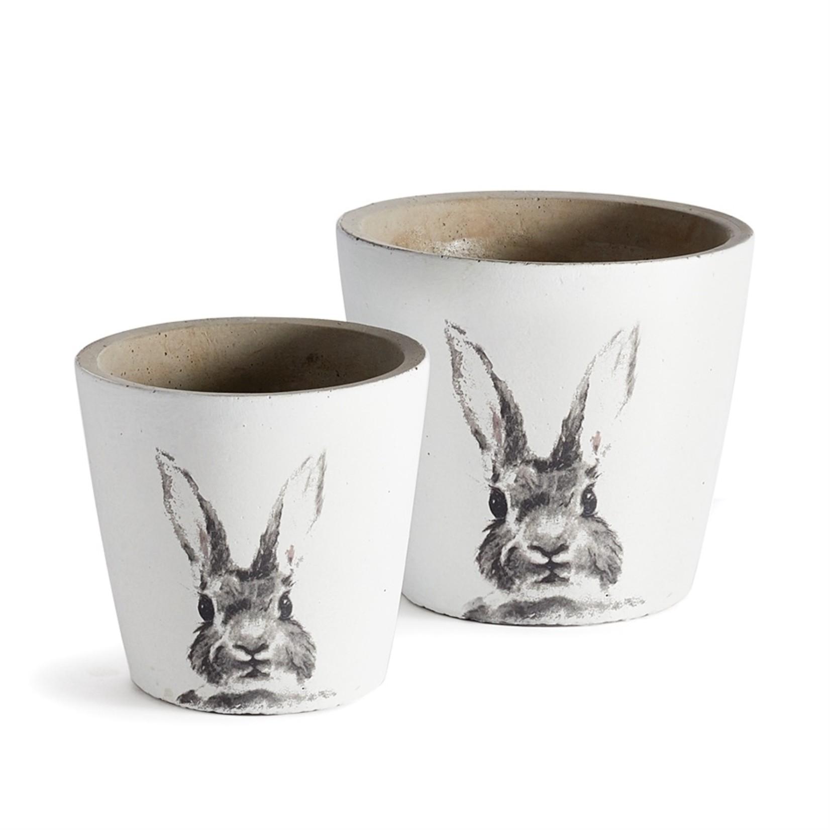 Napa Home and Garden Rabbit Pots