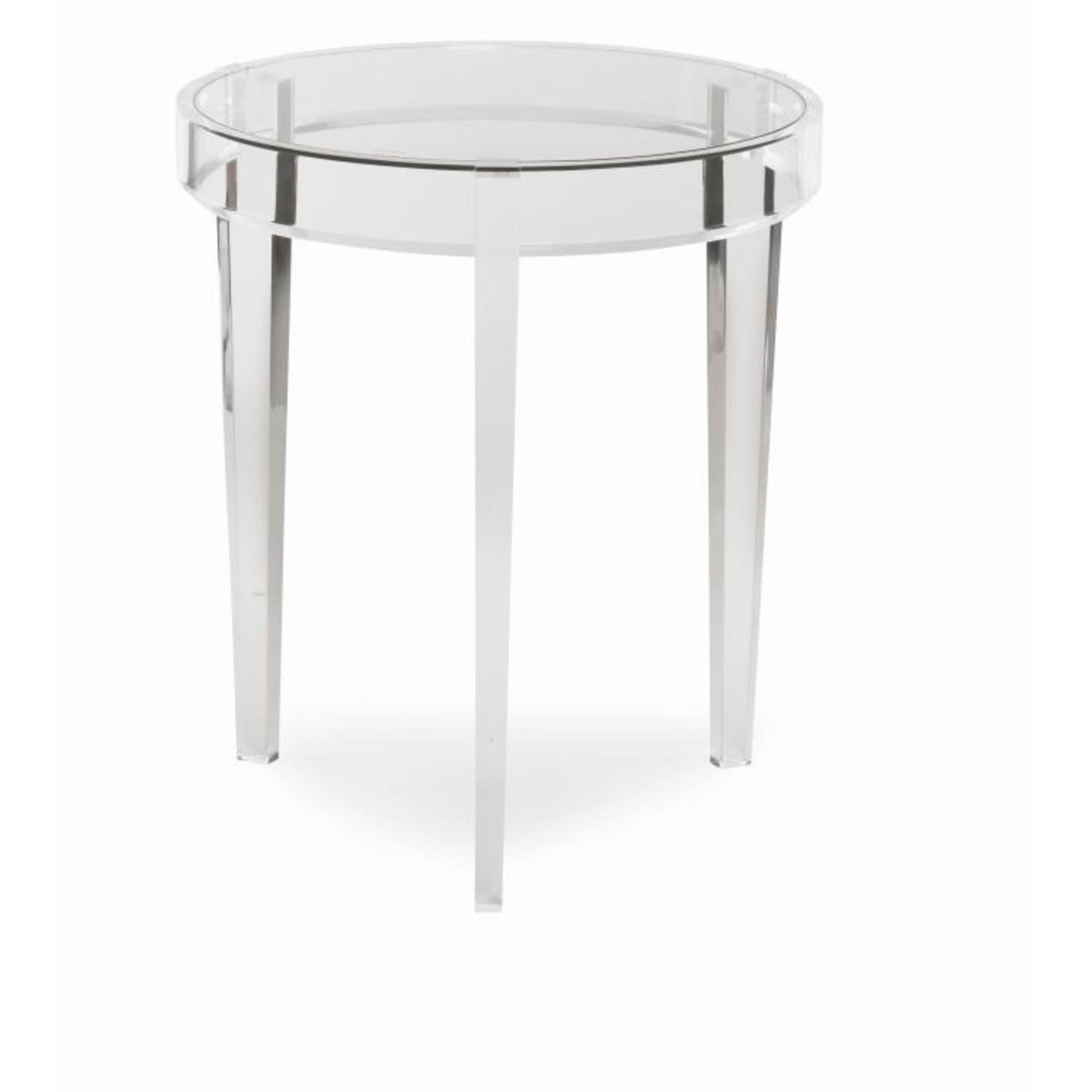 Highland House Wanda Acrylic Accent Table