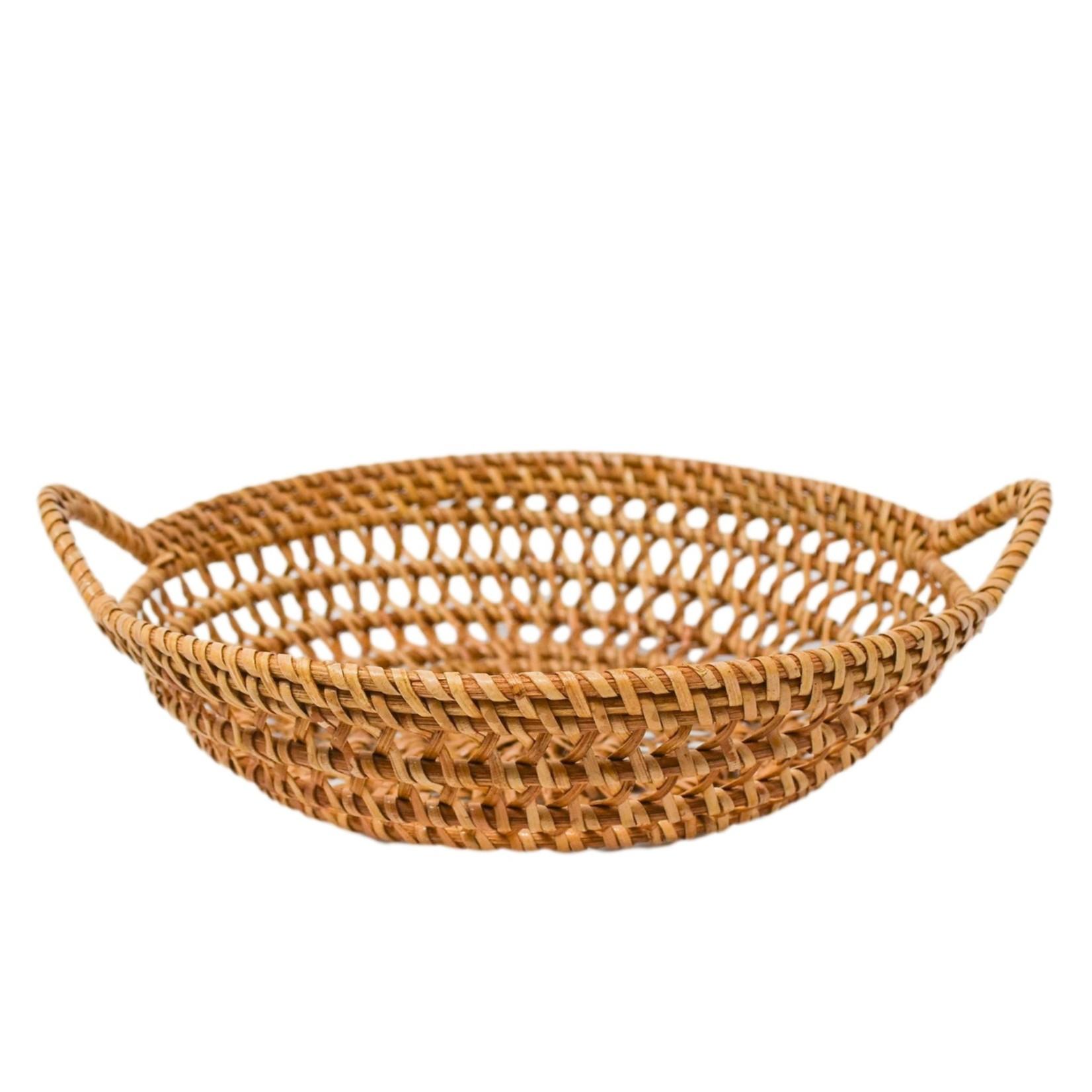 Poppy + Sage Sweet Pea Woven Basket