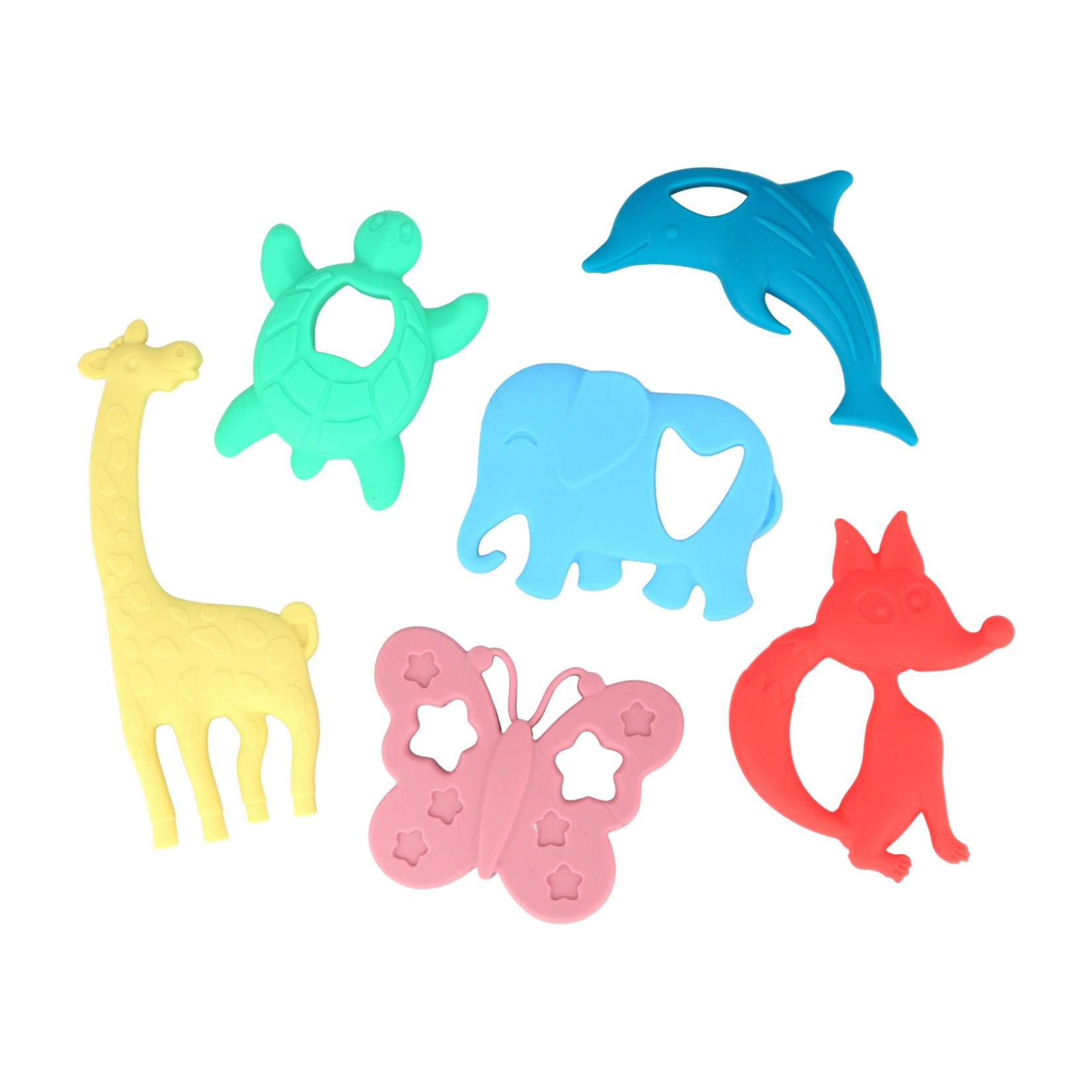 The Evolved Parent Chewbox Baby Teethers