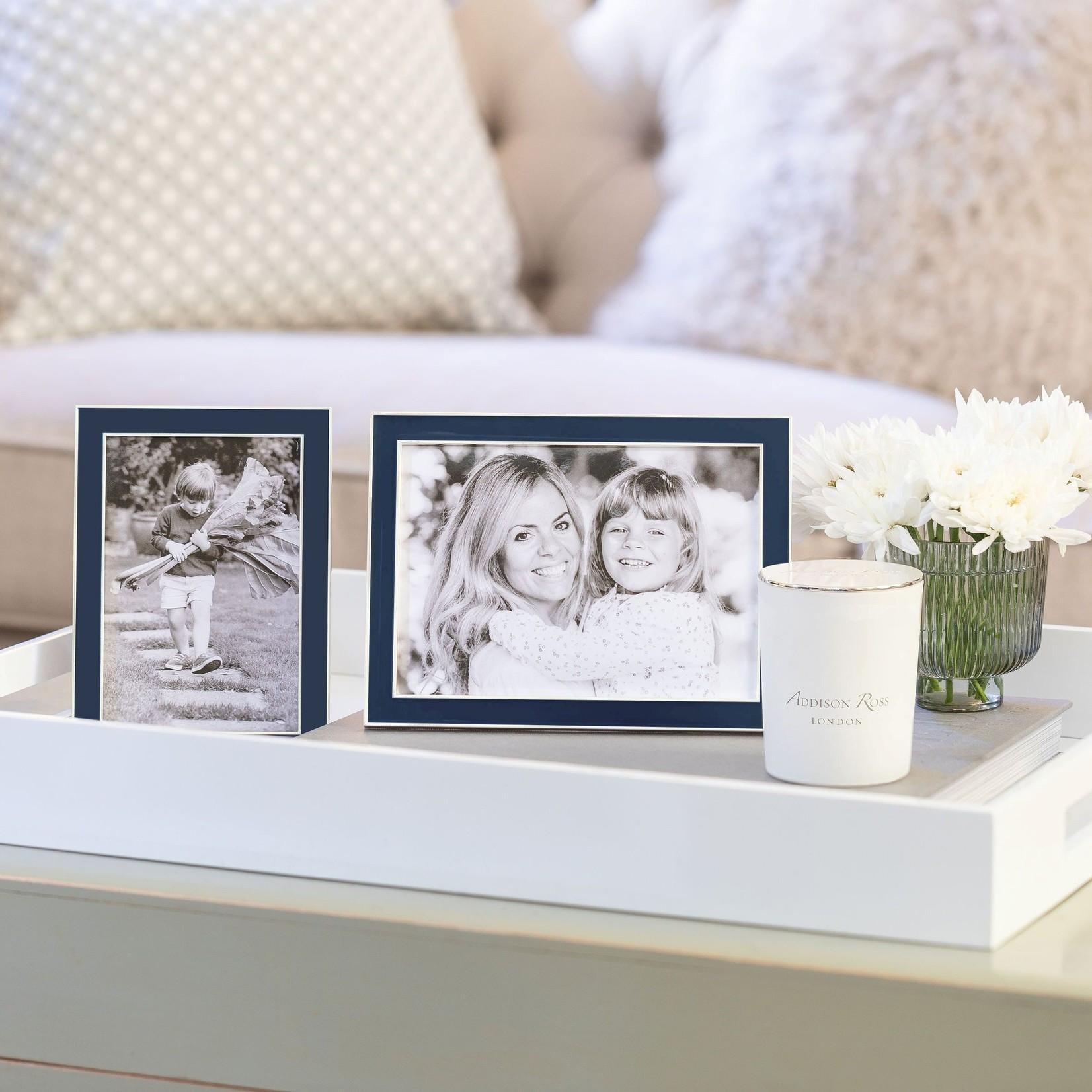 Addison Ross Colored Enamel & Silver Frame