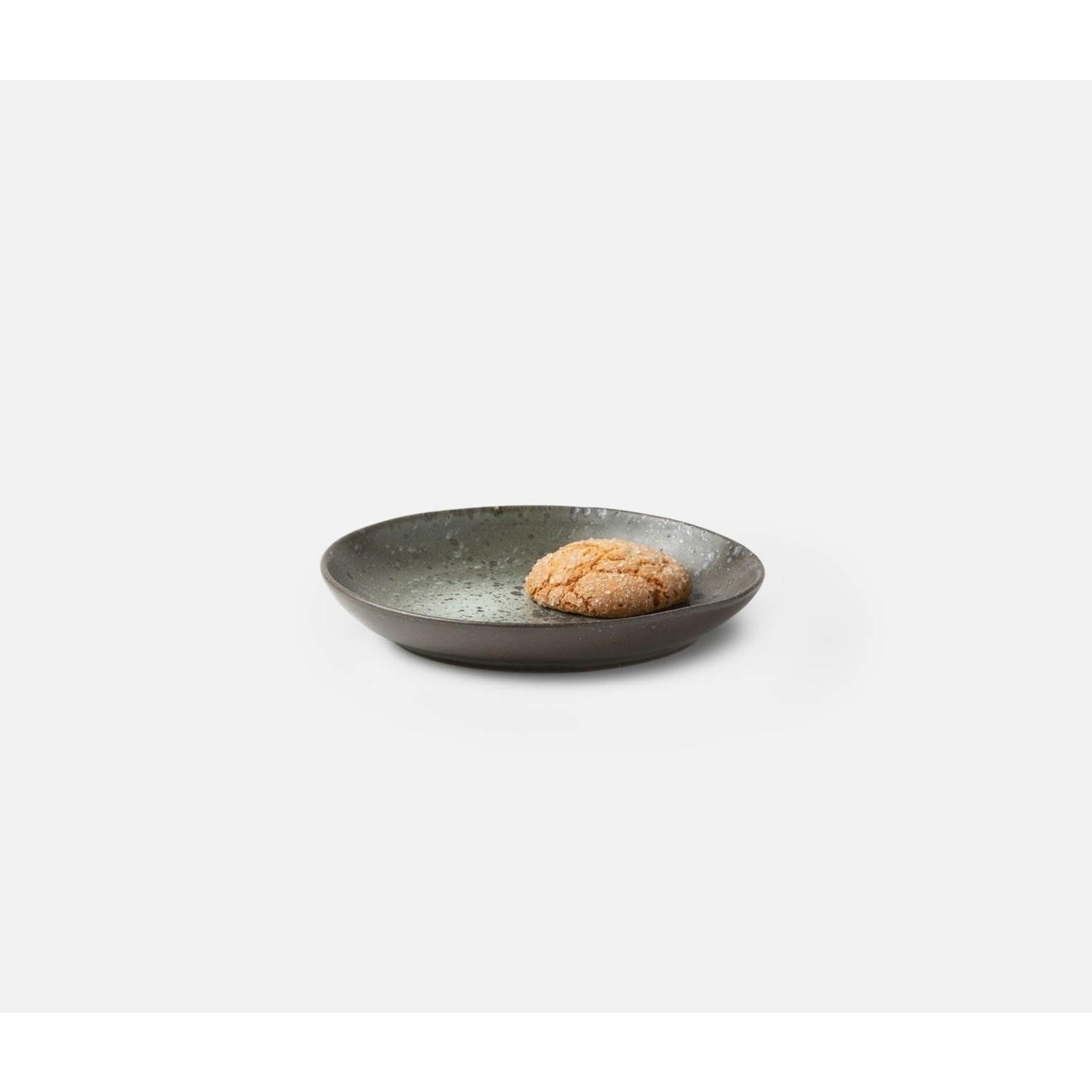 Blue Pheasant Marcus Gray Salt Glaze Dinnerware