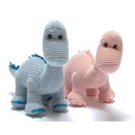 Best Years Knitted Baby Rattle (Organic Cotton)