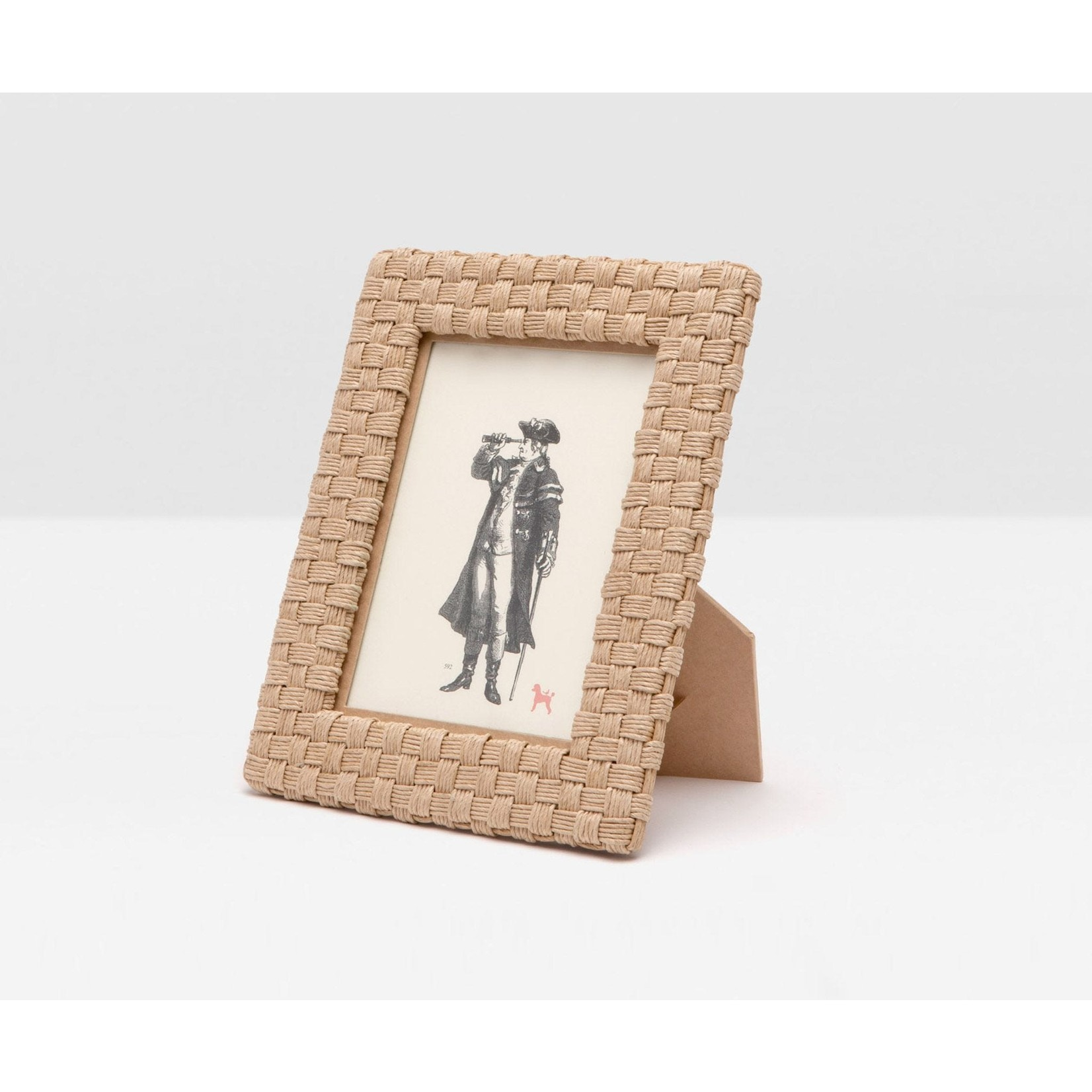 Pigeon and Poodle Genova Woven Rope Frame