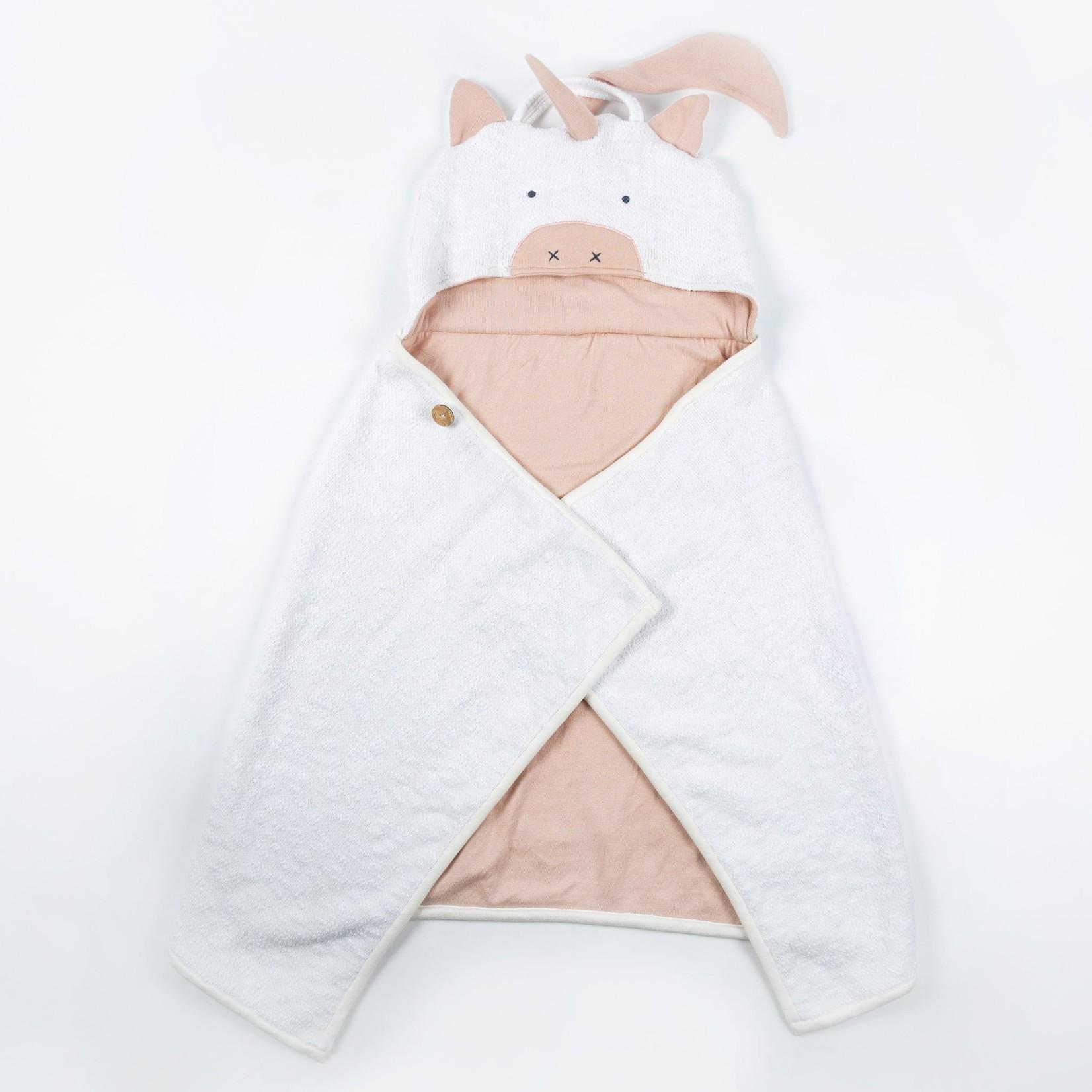 Zestt Organic Cotton Animal Travel Blanket