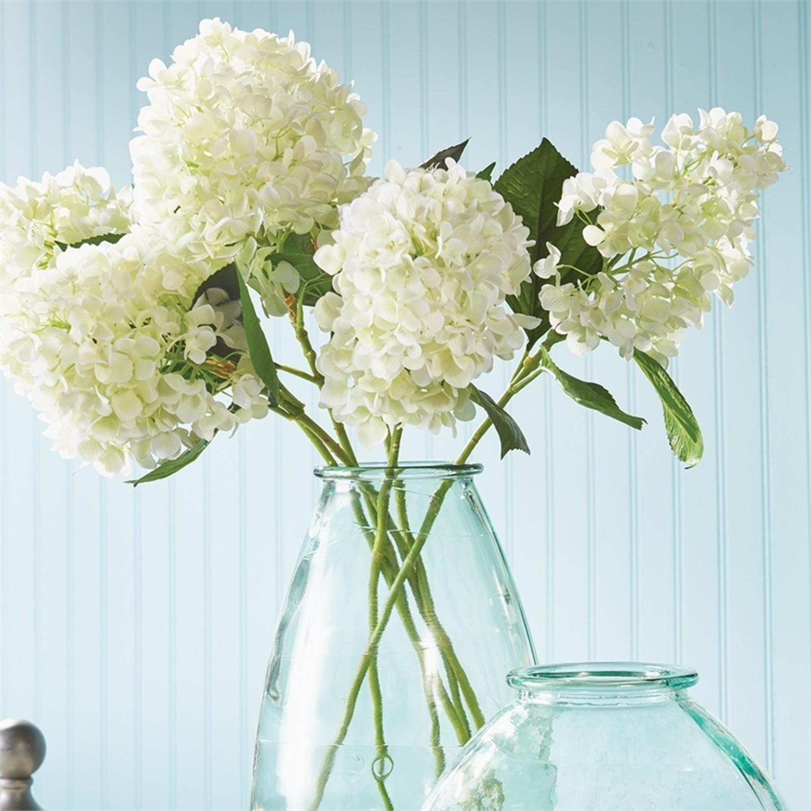 """Napa Home and Garden Cone Hydrangea Stem in White - 28"""""""