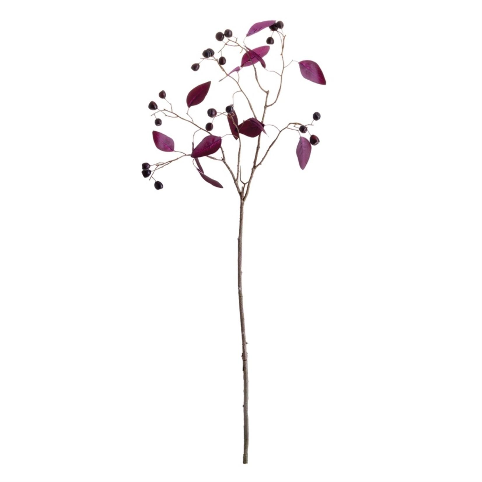 """Napa Home and Garden Eucalyptus Berry Branch - 35.5"""""""