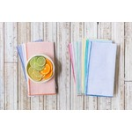 Dot and Army Seersucker Everyday Napkins - Set of 10