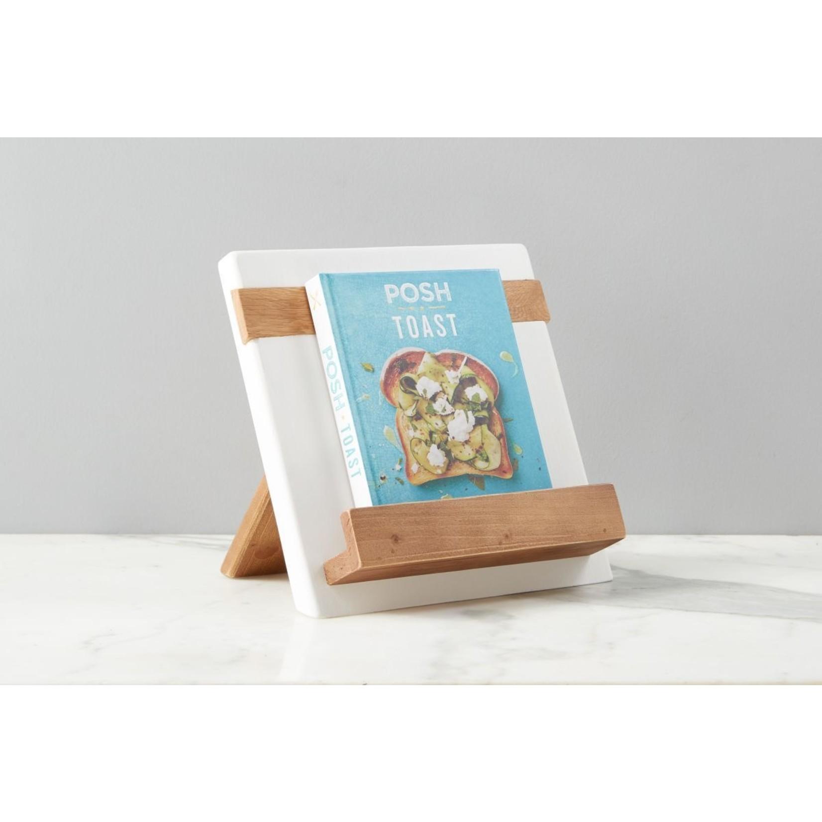 etu HOME Cookbook/iPad Holder in White