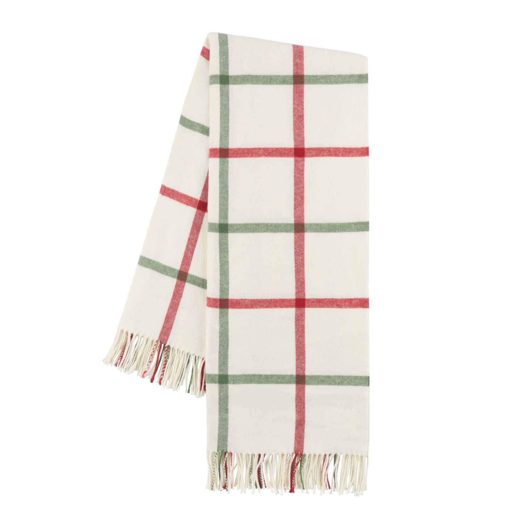 Lands Downunder Tattersall Plaid Throws