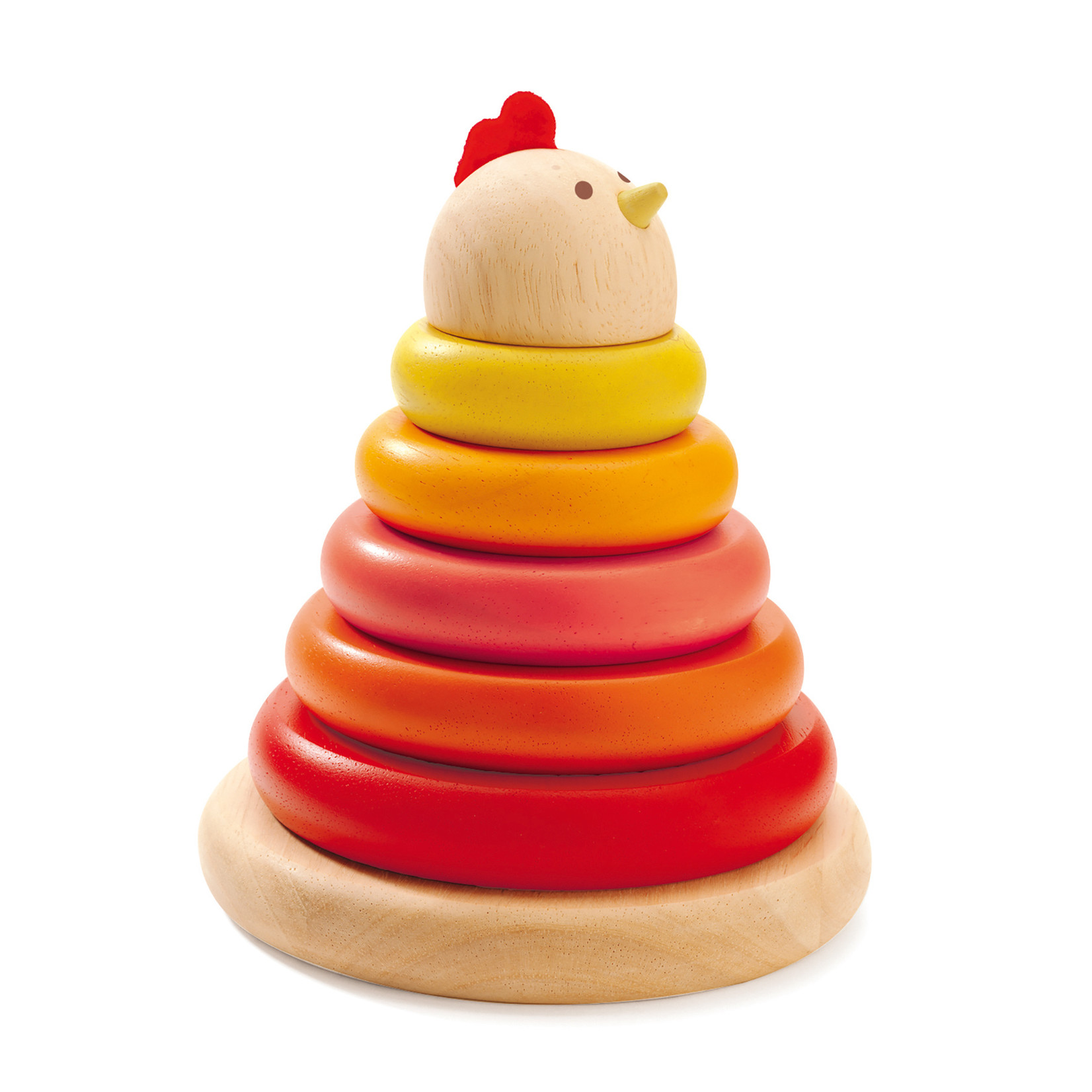 Djeco Cachempil Hen Stacking Game