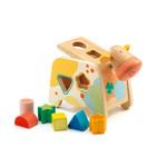 Djeco Cashatou Cow Sorting Box