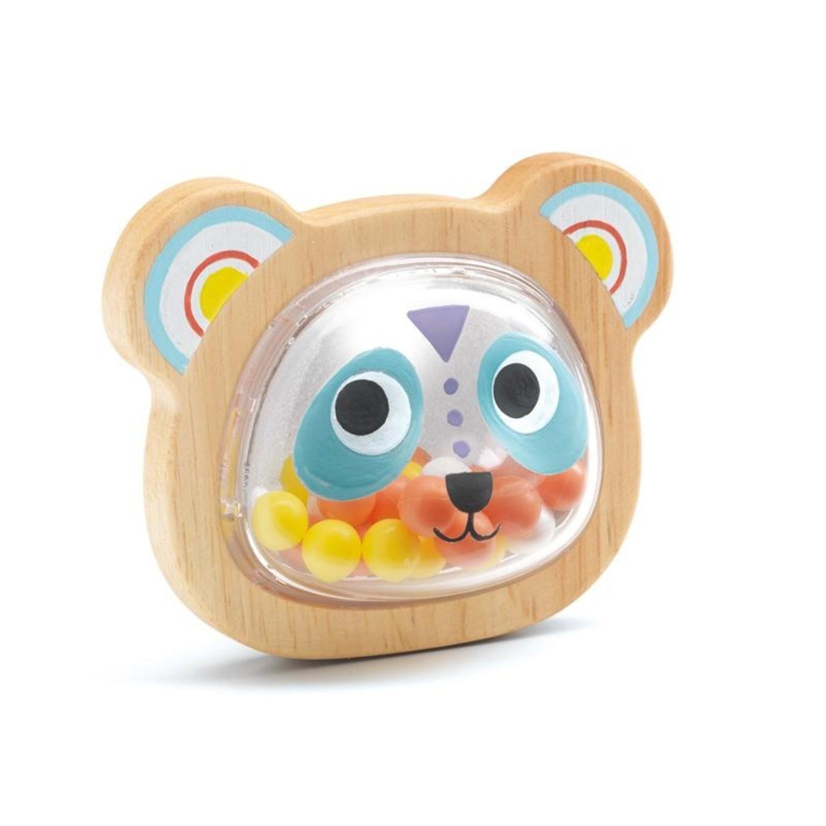 Djeco Baby Pandi Rattle