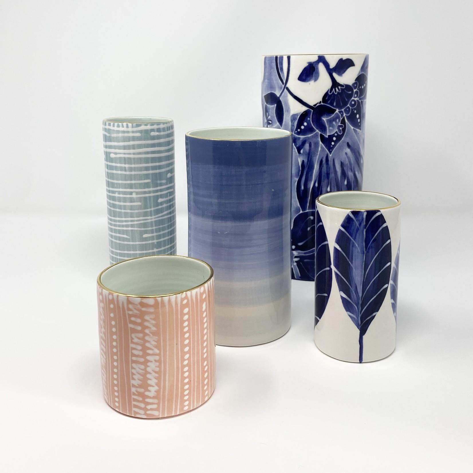 Jill Rosenwald Handmade Cylinder Vases