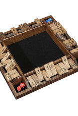 WE Games 4 Person Shut the Box