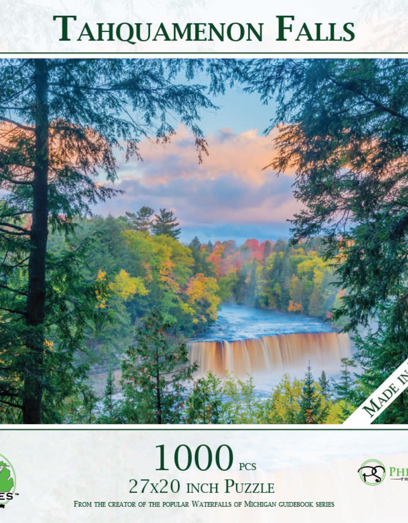 MI Puzzles 1000pc Tahquamenon Falls