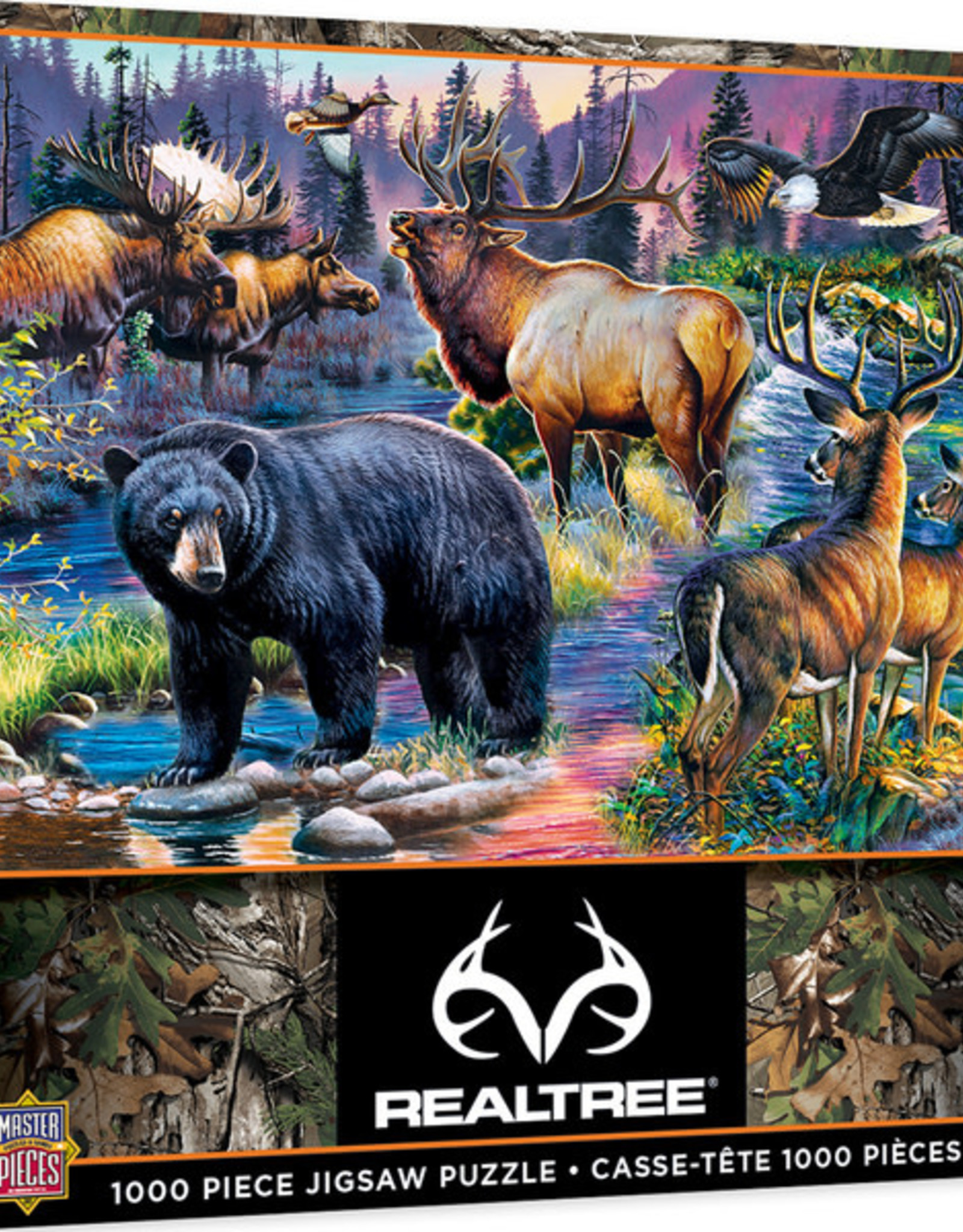 Master Pieces 1000pc RealTree Wild Living