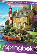 Springbok 1000pc The Cottage Lighthouse