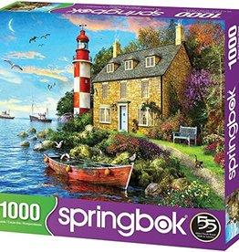 Springbok 1000pc The Cottage Lighthouse