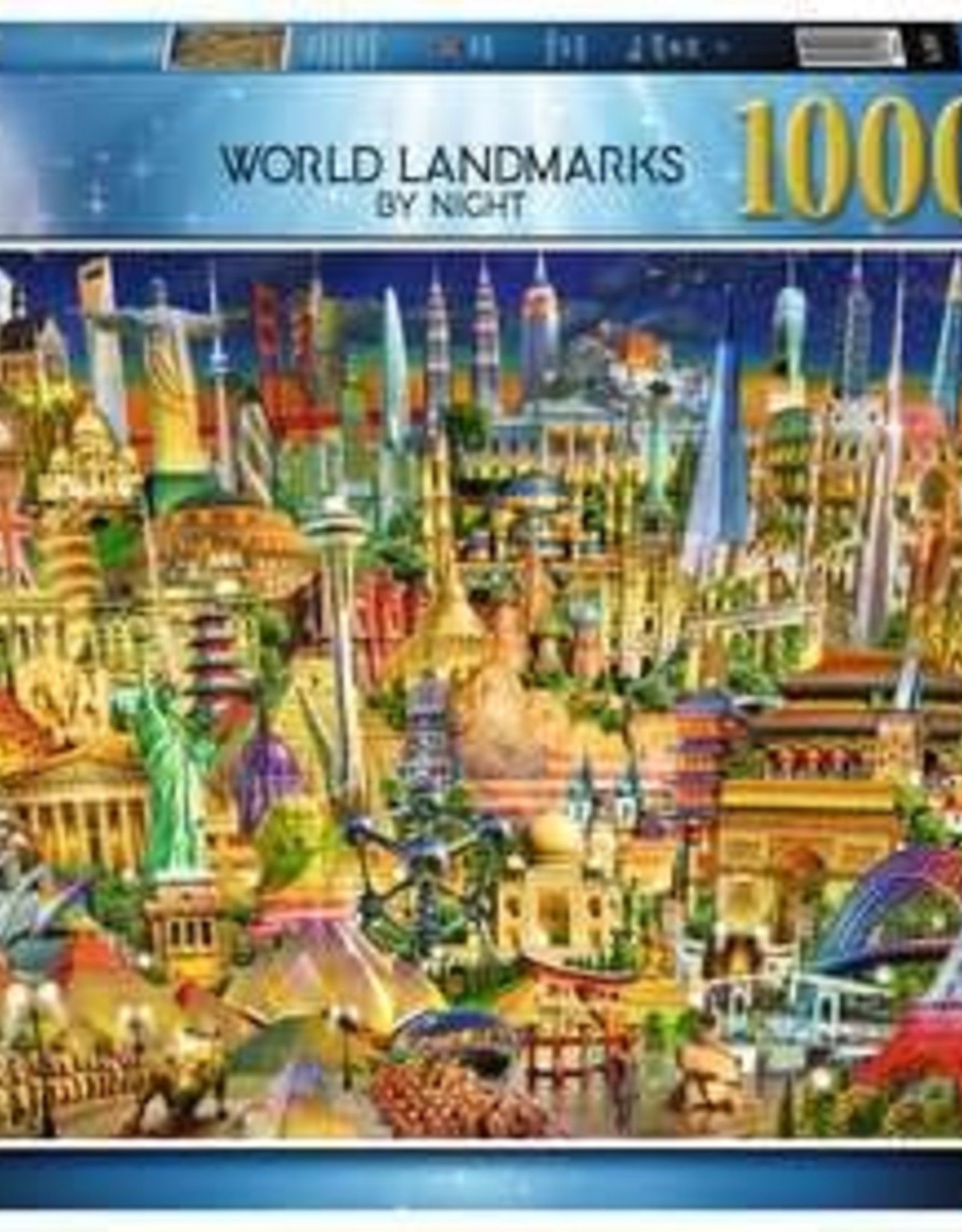 Ravensburger 1000pc World Landmarks at Night