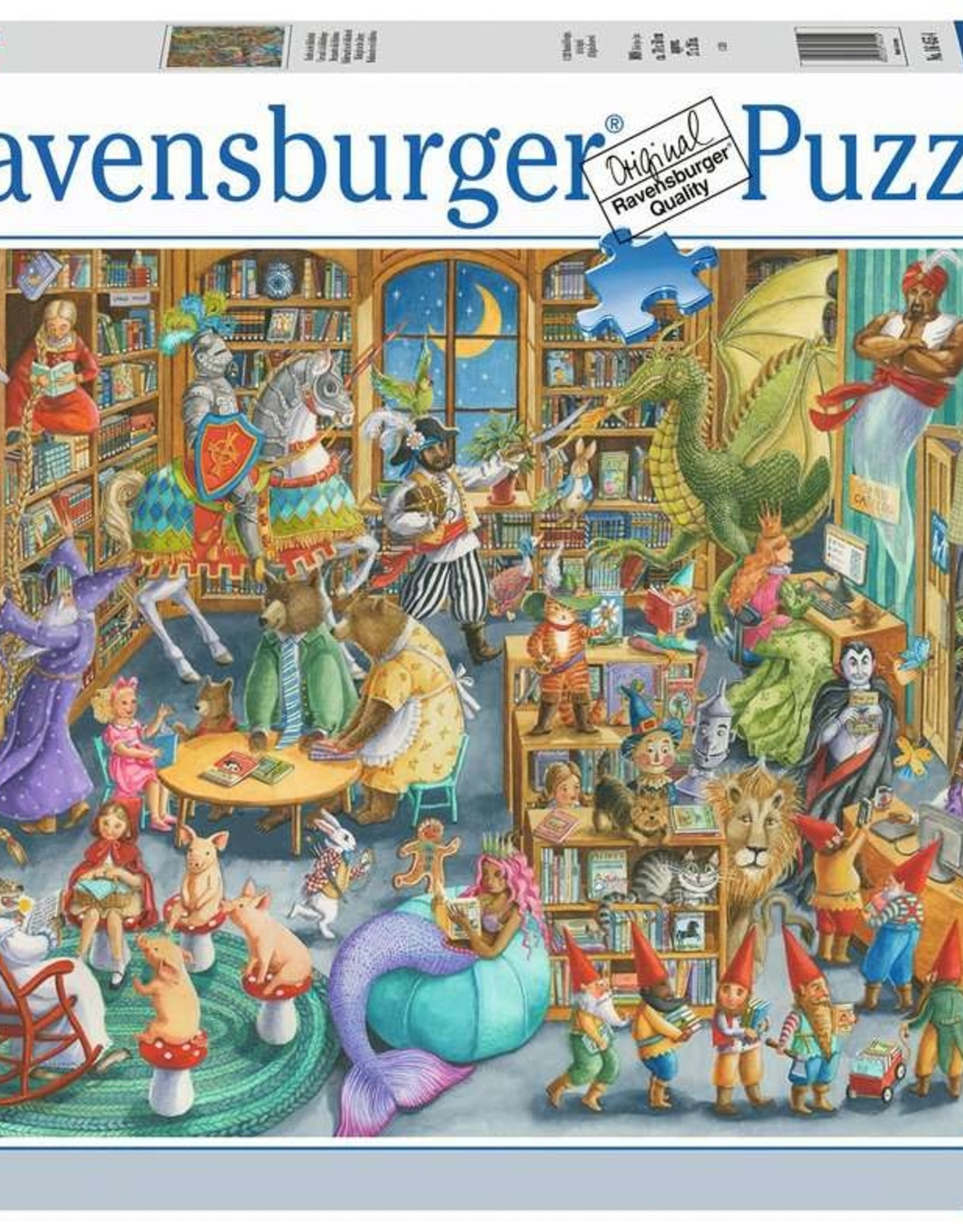 Ravensburger 1000pc Midnight at the Library