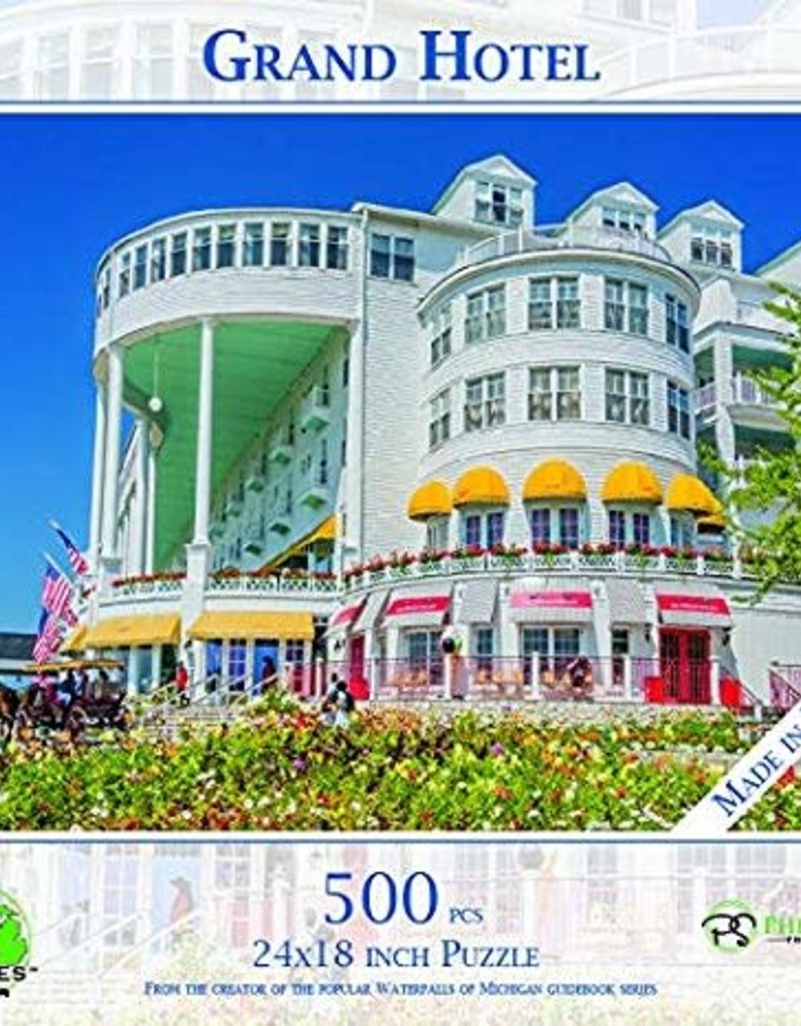 MI Puzzles 500pc Grand Hotel Mackinac