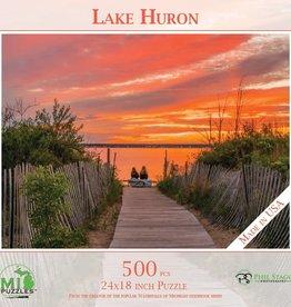 MI Puzzles 500pc Lake Huron