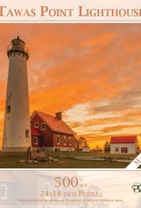 MI Puzzles 500pc Tawas Point Lighthouse