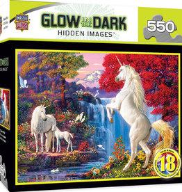 Master Pieces Glow in Dark Unicorns 550p