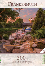 MI Puzzles 300pc Frankenmuth Riverboat