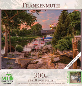 MI Puzzles Frankenmuth Riverboat 300pc