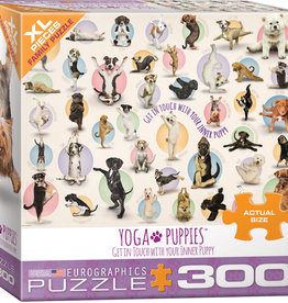 Eurographics Yoga Puppies 300pc
