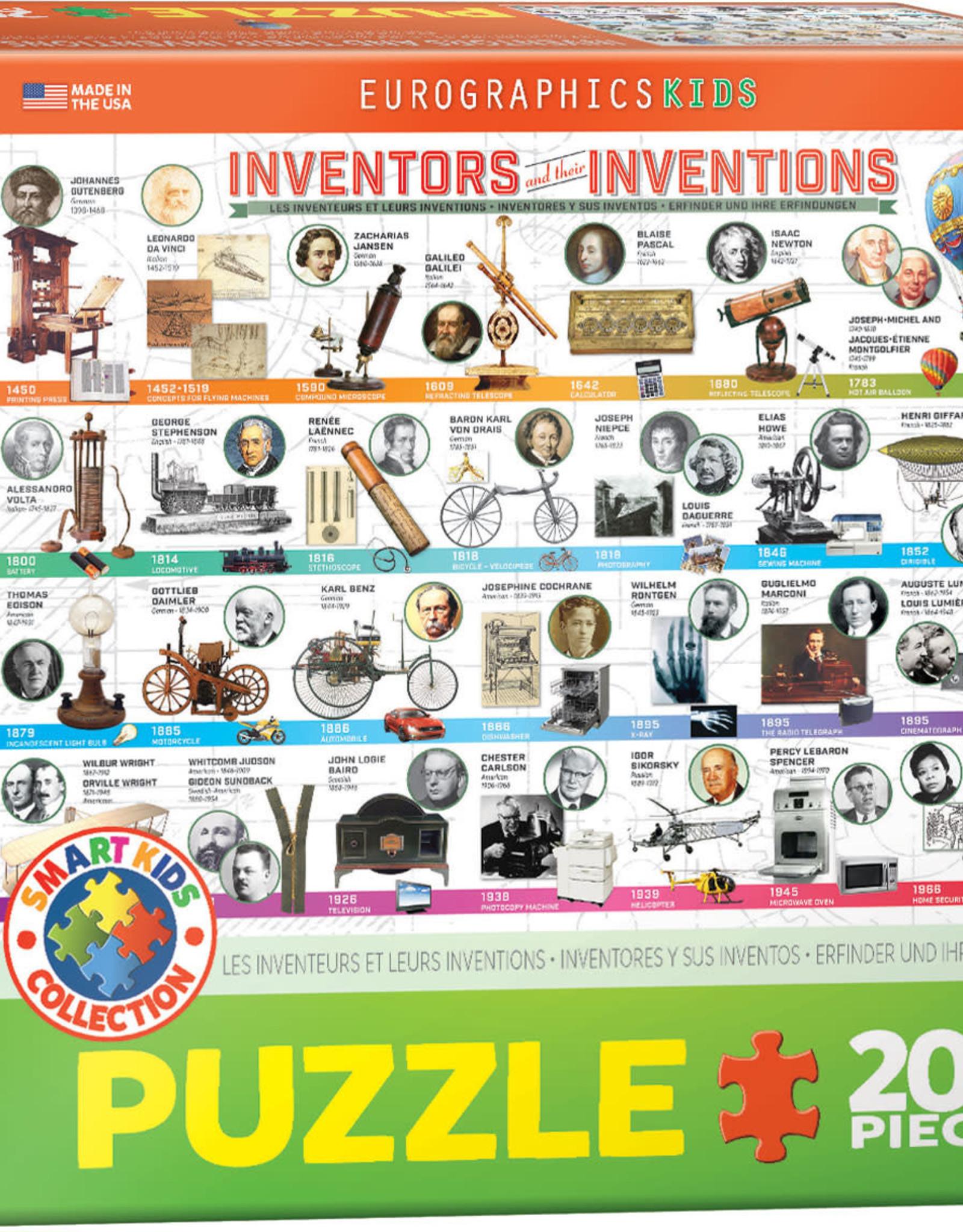 Eurographics 200pc Inventors & Inventions