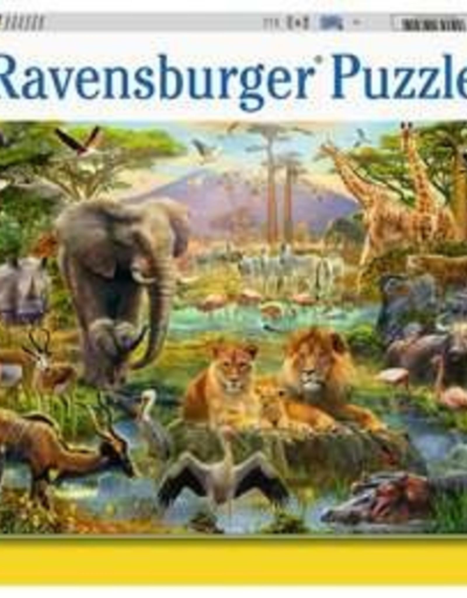 Ravensburger 200pc Animals of the Savannah