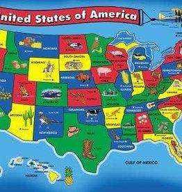 Melissa & Doug MD 51pc Floor Puzzle USA