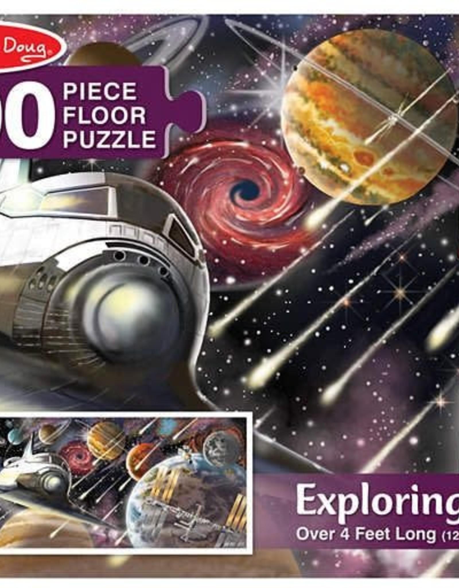 Melissa & Doug MD 200pc Floor Puzzle Exploring Space