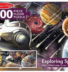 Melissa & Doug MD Floor Puzzle Exploring Space 200pc