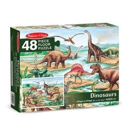 Melissa & Doug MD 48pc Floor Puzzle Dinosaurs