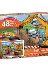 Melissa & Doug MD 48pc Floor Puzzle Building Site