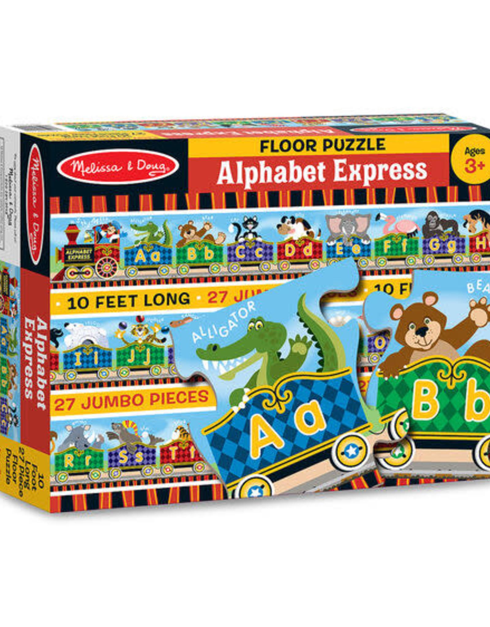 Melissa & Doug MD 27pc Floor Puzzle 10ft Alphabet Express